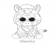 Beanie Boo Coloring Pages Free Printable