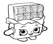 SHOPKINS Coloring Pages Color Online Free Printable