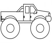 Grave Digger Monster Jam Truck Coloring Pages Printable