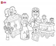 LEGO DISNEY Coloring Pages Color Online Free Printable