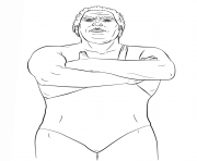 WWE Coloring Pages Color Online Free Printable