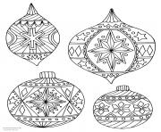 Christmas Adults Traditional 13 Coloring Pages Printable