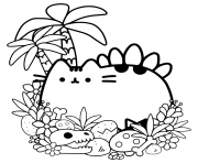PUSHEEN Coloring Pages Color Online Free Printable