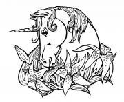 Unicorn Coloring Pages to Print Unicorn Printable