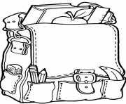 Back To School Coloring Pages Free Printable