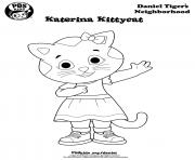 Daniel Tiger Coloring Pages Free Printable