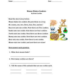 1st Grade Story Reading Worksheet – coloring.rocks! [ 2200 x 1700 Pixel ]