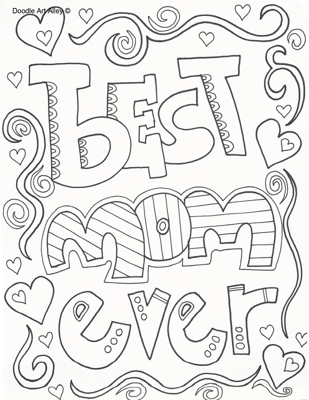 Mothers Day Coloring Pages ⋆ coloring.rocks!