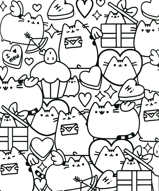 Pushing Coloring Pages