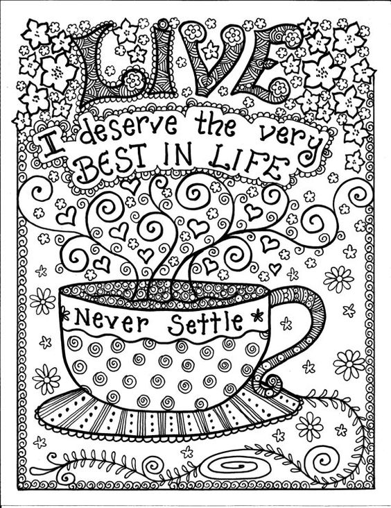Coloring Pages For Teen : coloring, pages, Coloring, Pages, Teens, Coloring.rocks!