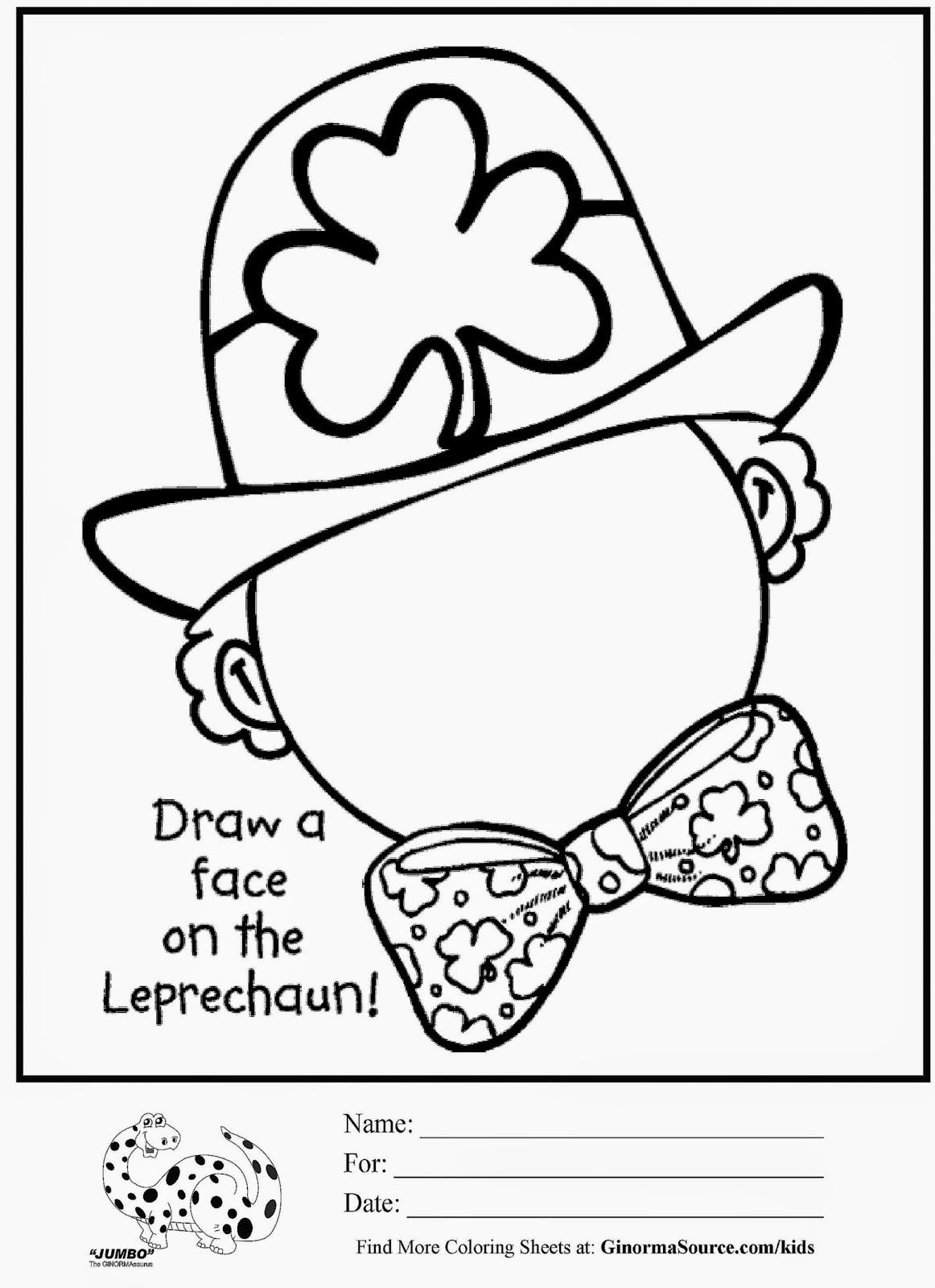 St Pats Pages Color By Number Coloring Pages