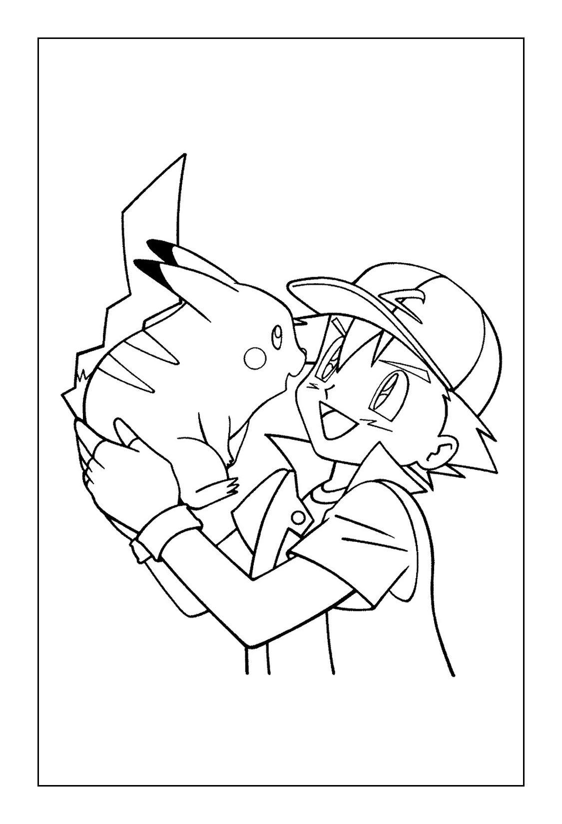 Gambar Pikachu Coloring Pages Coloring Rocks Jpeg Png Gif - Best ...