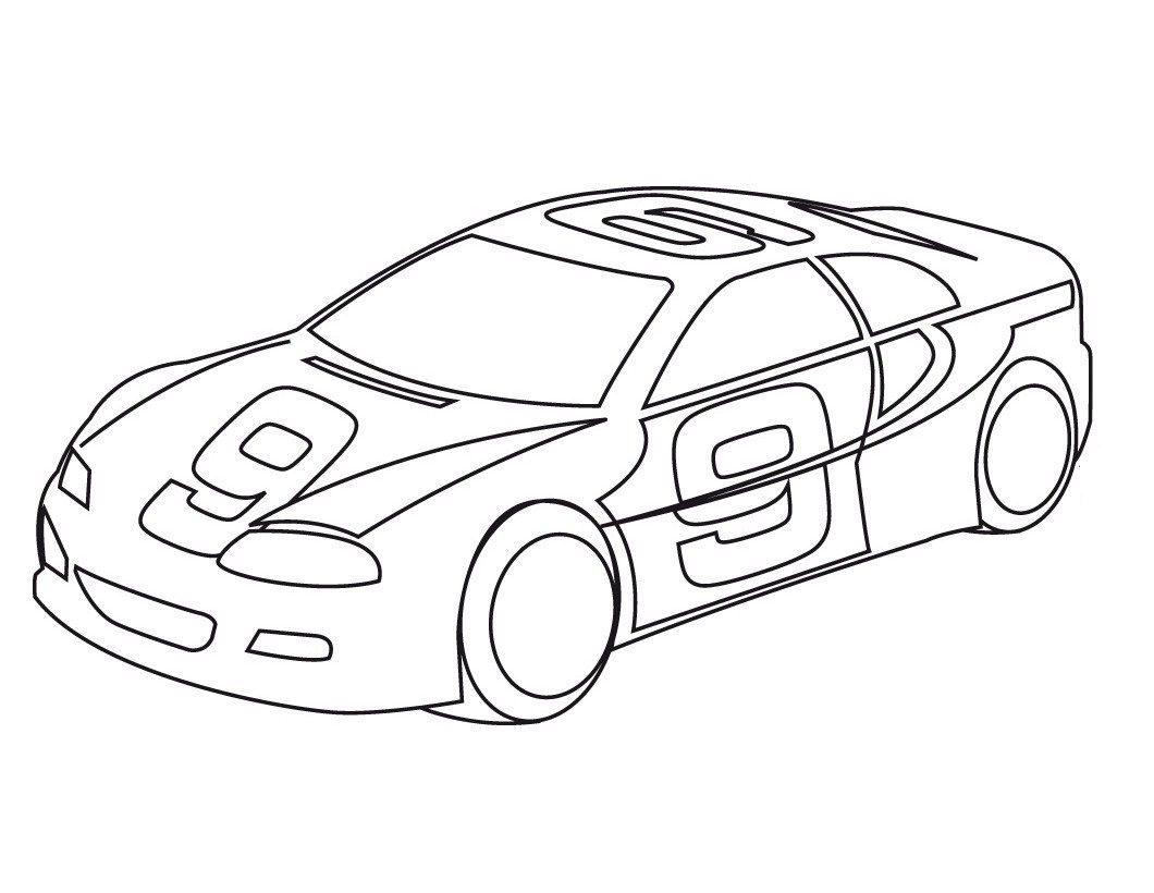 Race Car Coloring Pages Coloringcks