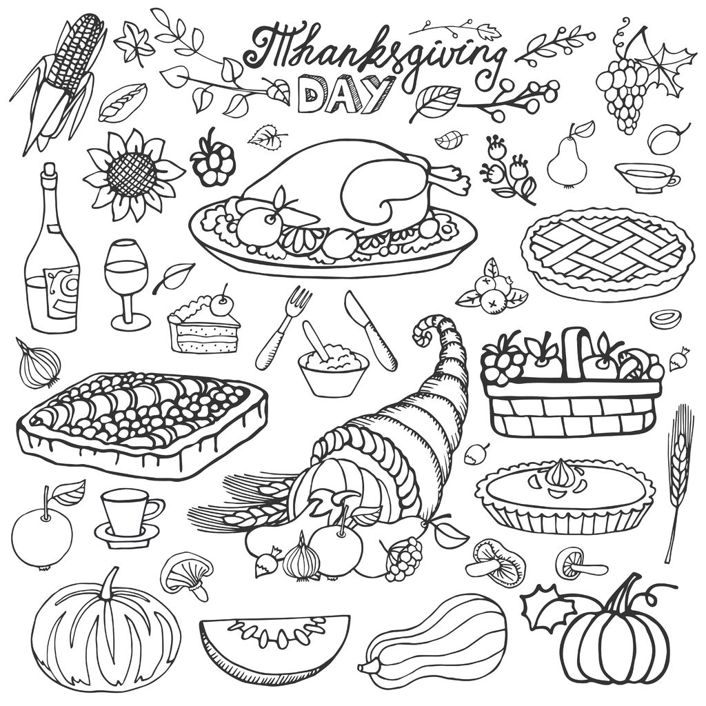 Food Coloring Pages Coloring Cks