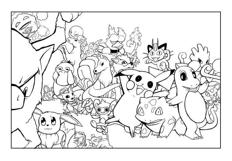 Pokémon Coloring Pages! ⋆ coloring.rocks!