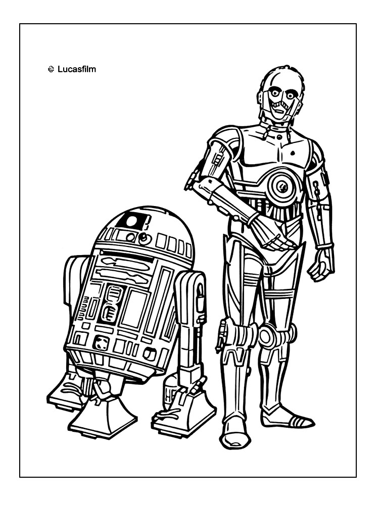 Jedi Training Coloring Pages