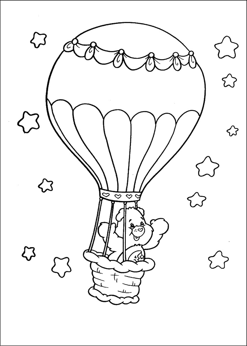 Balloons Coloring Pages