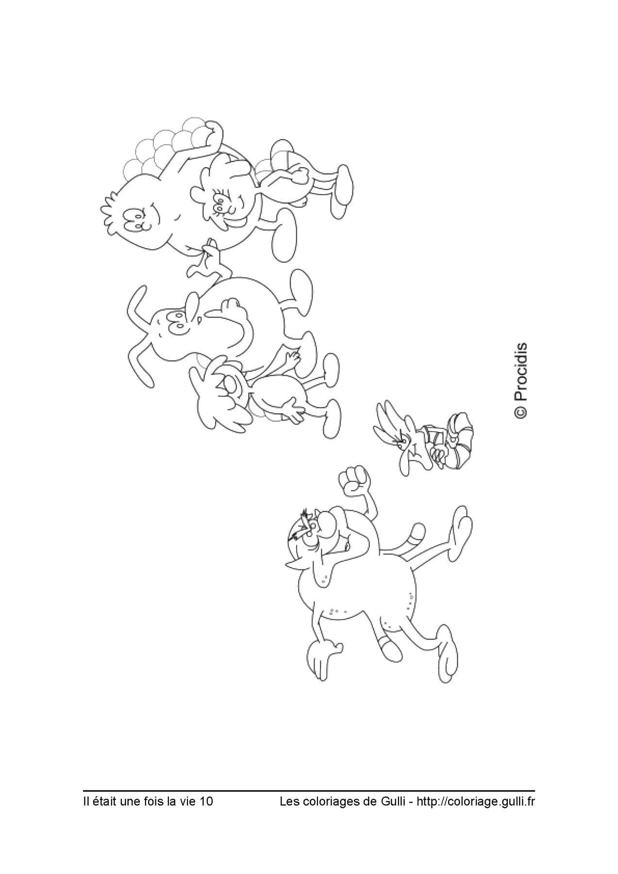 Once Upon A Life Coloring Pages