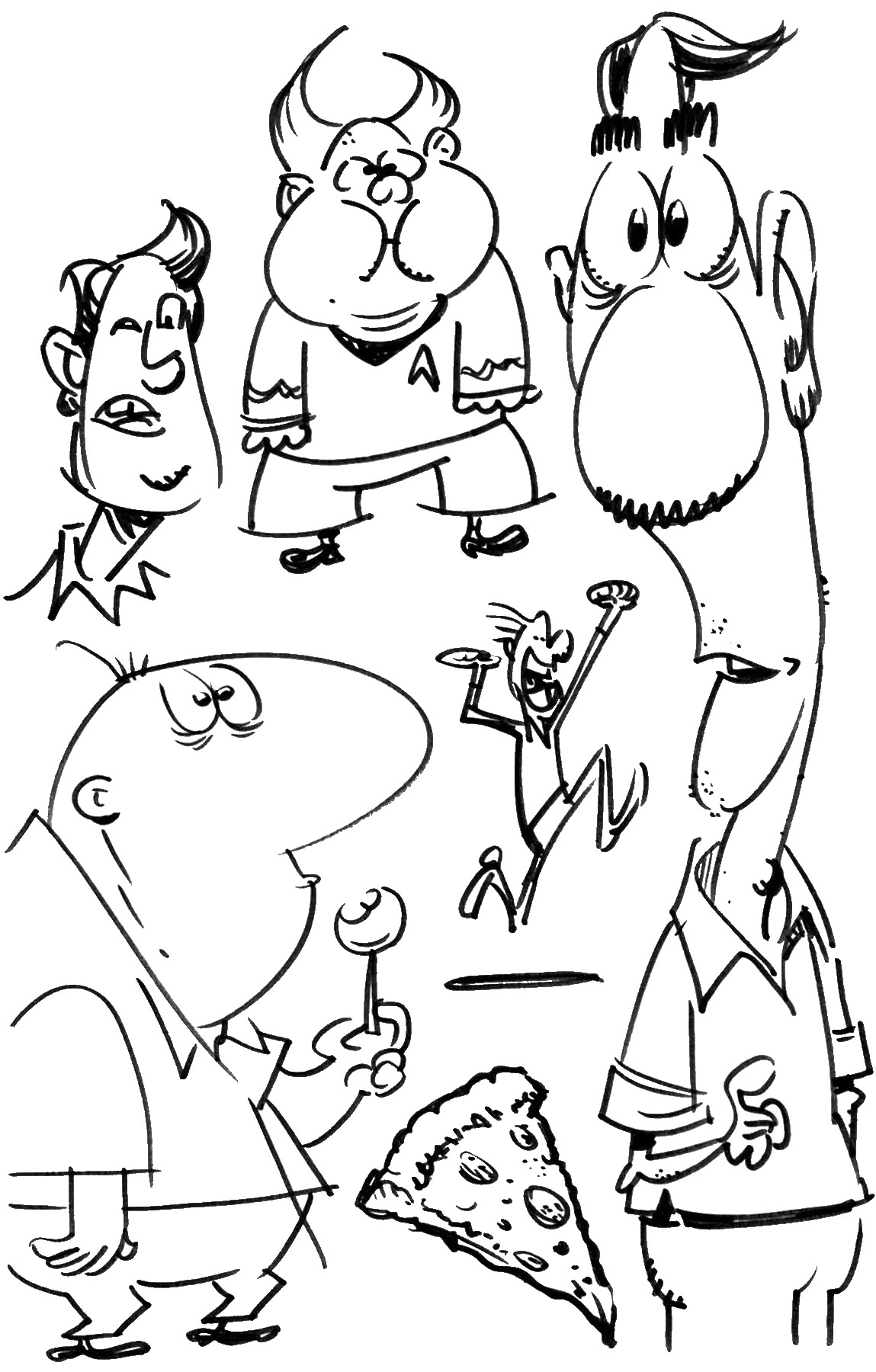 Phineas and Ferb Coloring Pages