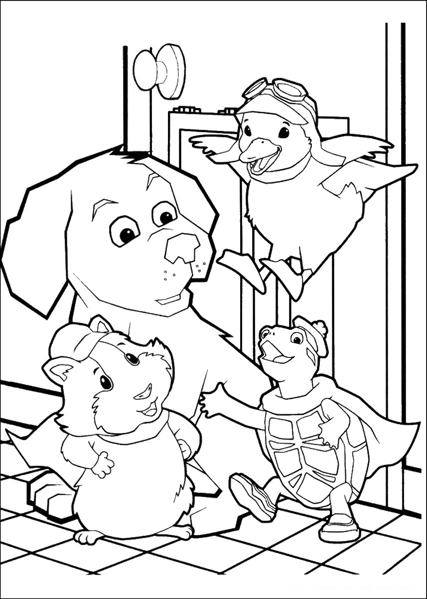 Wonder Pets Coloring Pages