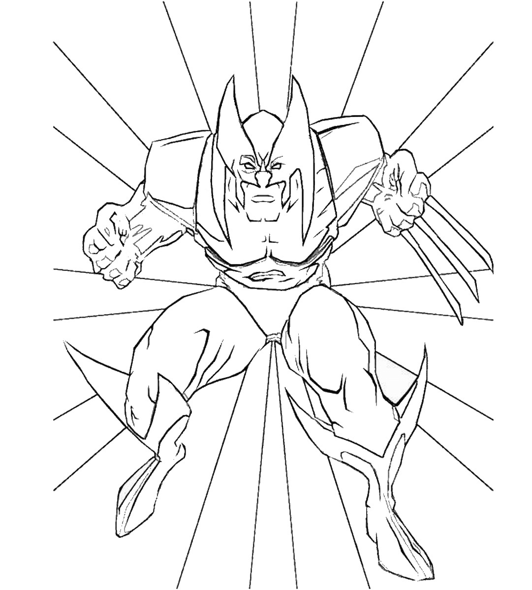 Wolverine and the X-Men Coloring Pages