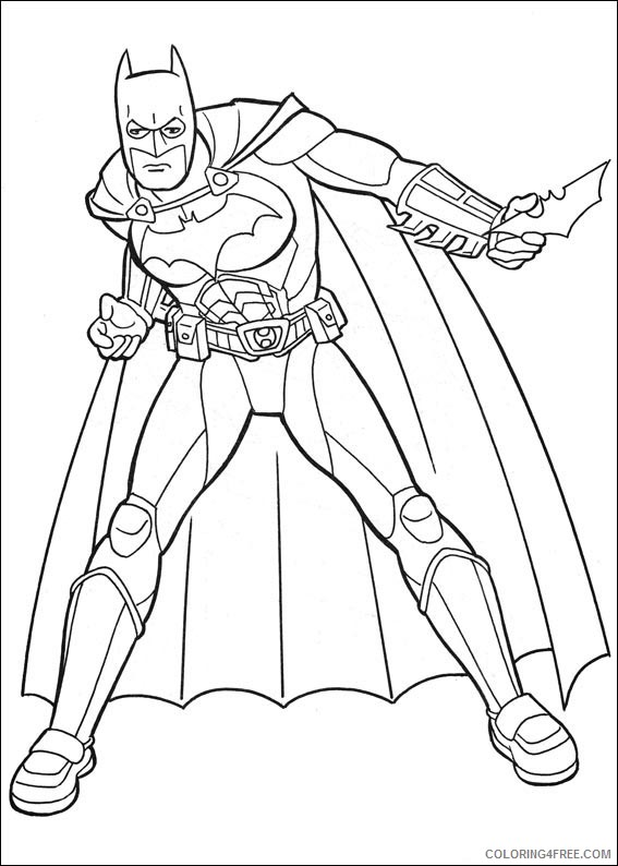 Batman Logo Coloring Pages Coloring4free Coloring4free Com