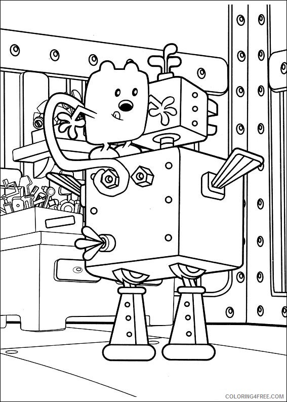 wow wow wubbzy coloring pages # 48
