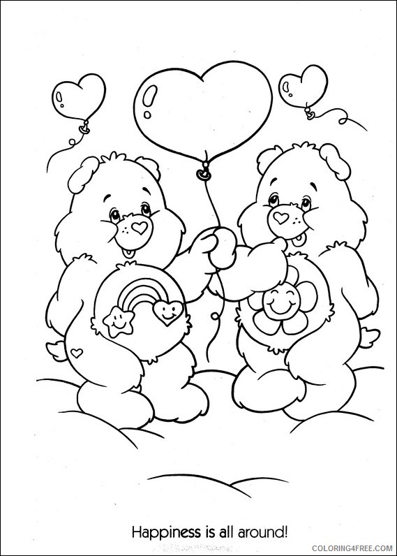 care bears coloring pages best friend bear Coloring4free