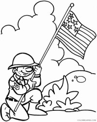 free veterans day coloring pages for kids Coloring4free ...