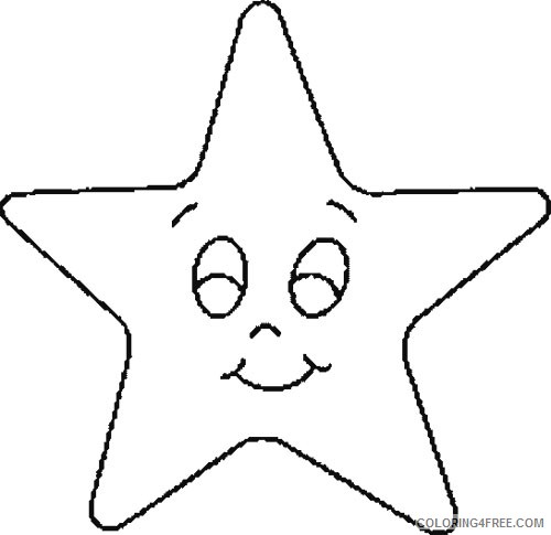 Star Coloring Pages For Kids Printable Coloring4free Coloring4free Com