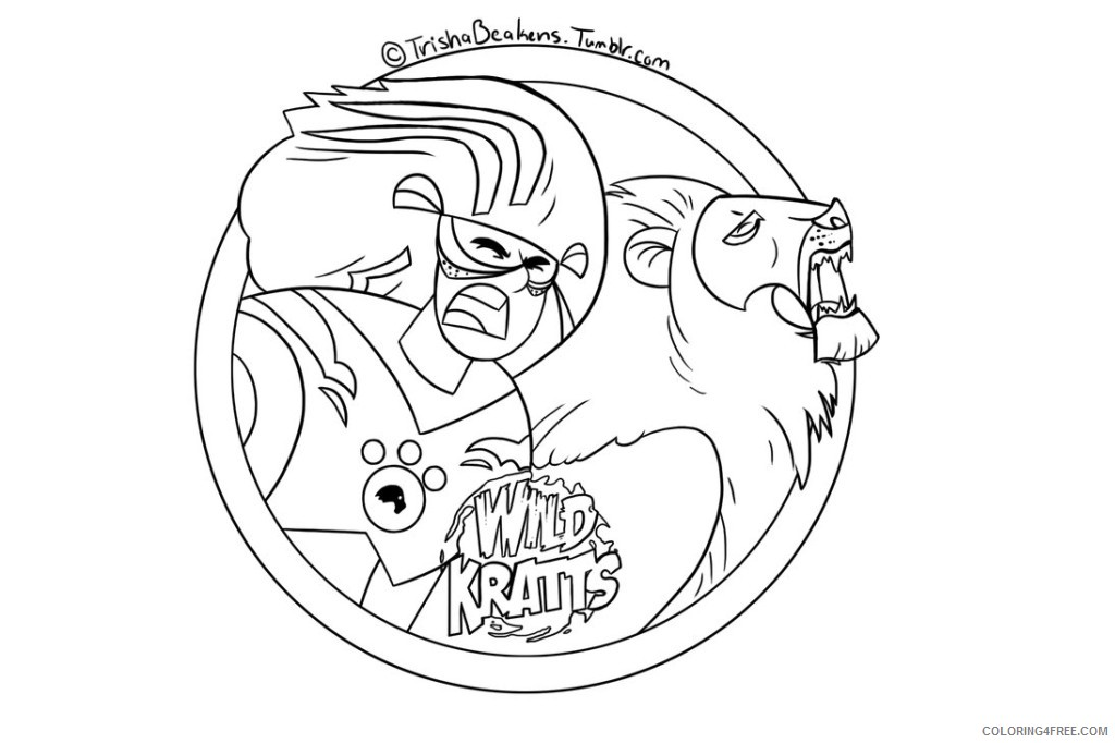 Wild Kratts Coloring Pages Printable Coloring4free Coloring4free Com