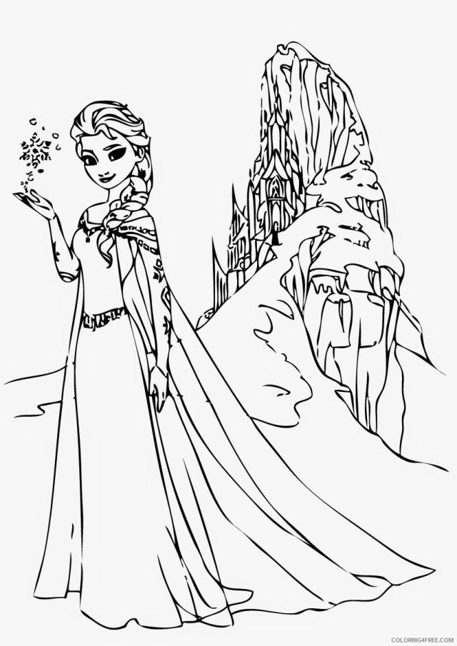 Frozen Coloring Pages TV Film Frozen Elsa Printable 15 15