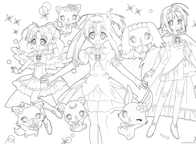 LoliRock Coloring Pages TV Film lolirock_coloring9 Printable 9