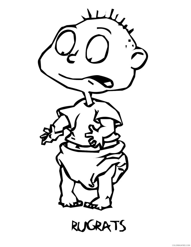 Rugrats Coloring Pages TV Film Printable Rugrats For Kids