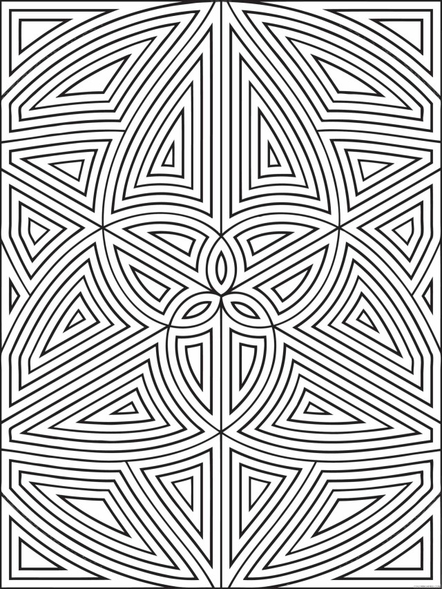 Shapes Coloring Pages Educational Geometric Shapes Printable 28