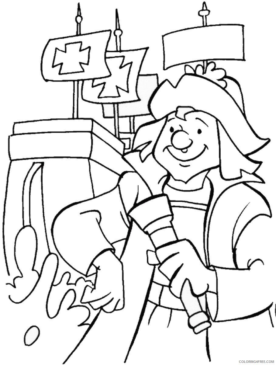hight resolution of Columbus Day Coloring Pages Holiday colombus_day_coloring16 Printable 2021  0126 Coloring4free - Coloring4Free.com