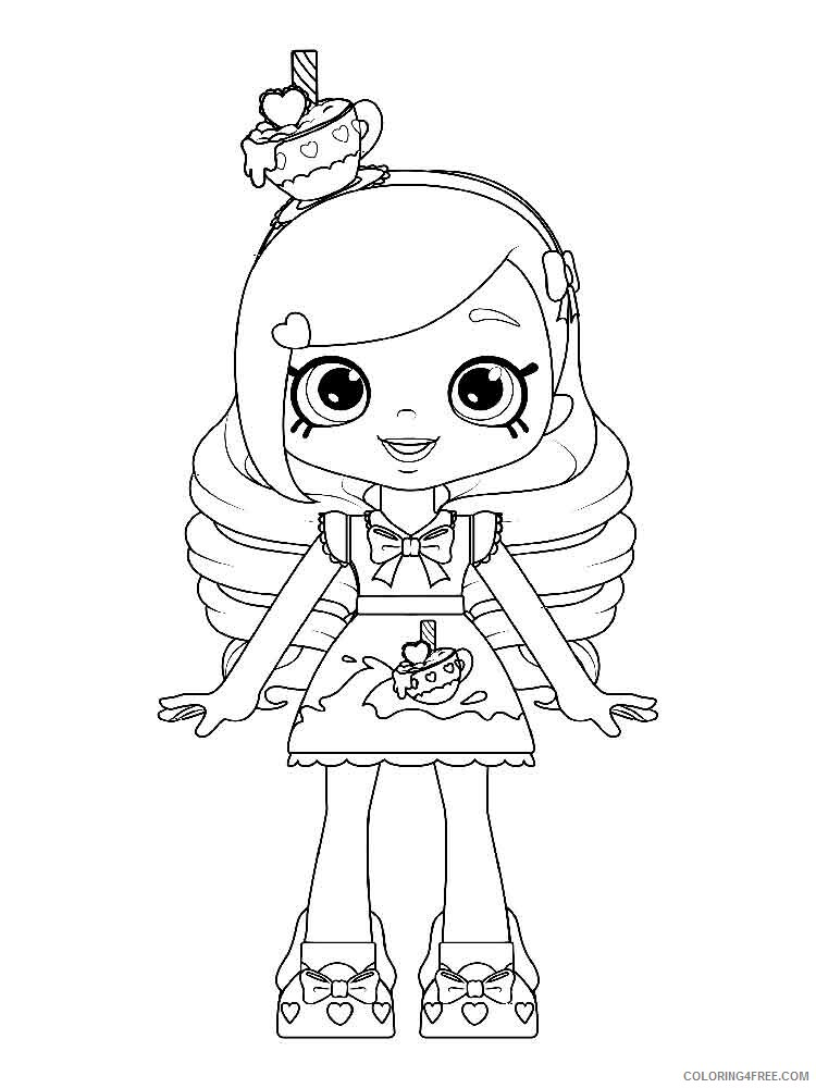 Shopkins Girl Coloring Pages : shopkins, coloring, pages, Shopkins, Coloring, Pages, Girls, Printable, Coloring4free, Coloring4Free.com