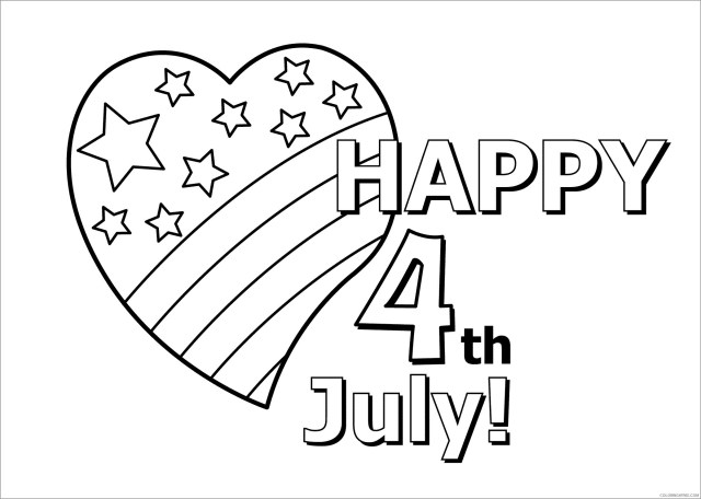 26th of July Coloring Pages happy 26th july Printable 26 26