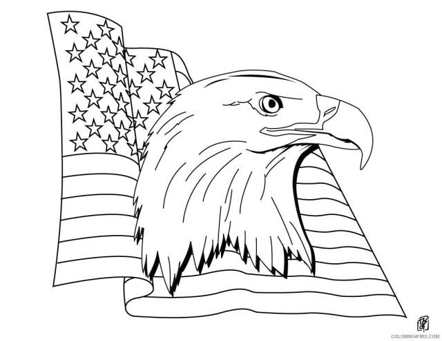 Patriotic Coloring Pages Free Patriotic American Flag Printable