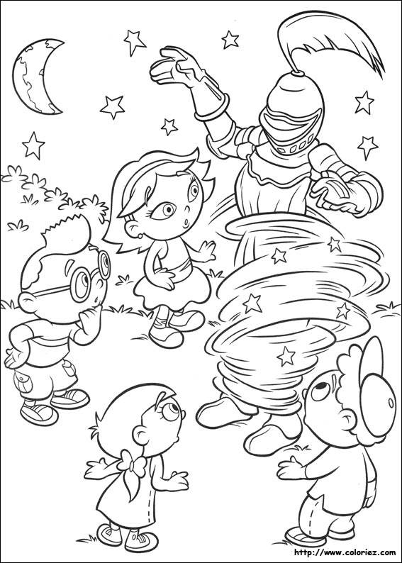 Free printable Little Einstein coloring pages