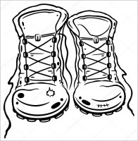 Boots Coloring Pages   ColoringBay