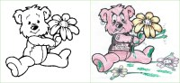 Guest Post: Flower Power   Coloring Book Corruptions