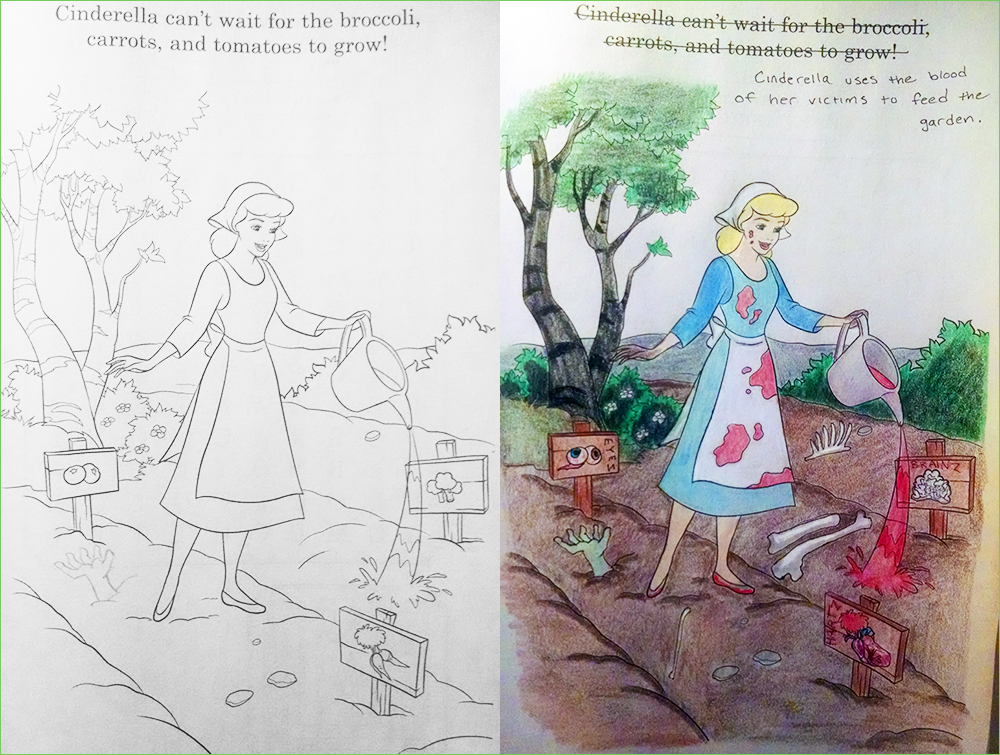 25 Disturbing Coloring Book Corruptions