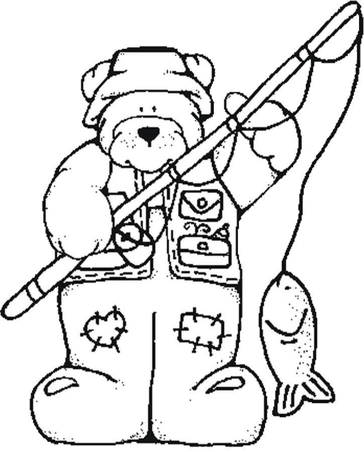 23 Best Woods And Hunting Coloring Pages for Kids