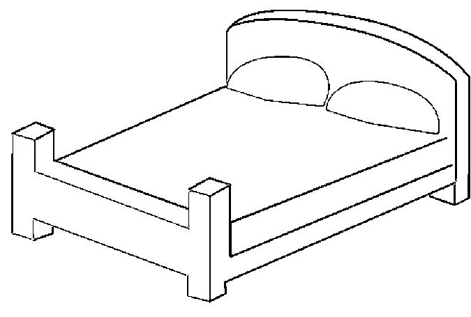10 Best Bedroom Furniture Coloring Pages for Kids