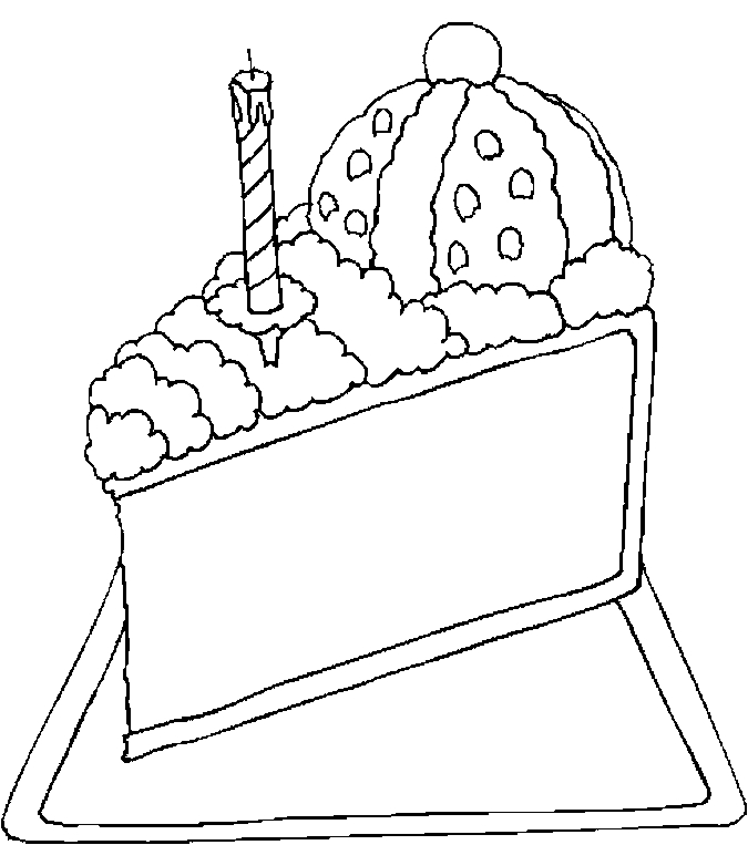 100 Best Desserts Coloring Pages For Kids