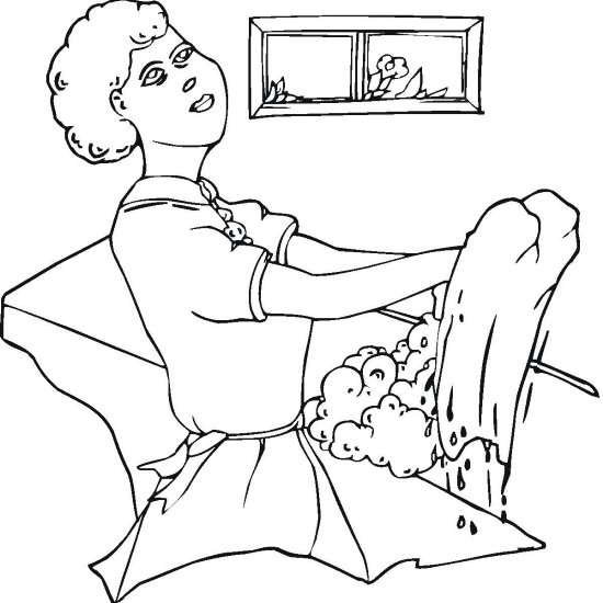 21 Best Laundry And Clothing Coloring Pages for Kids