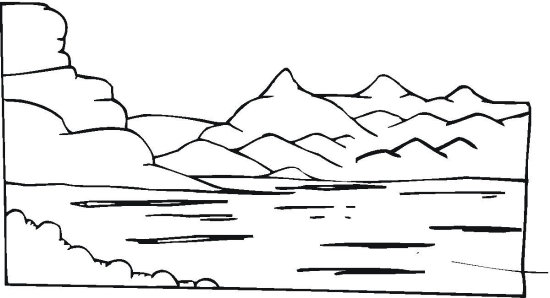 10 Best Pond River And Lake Coloring Pages for Kids