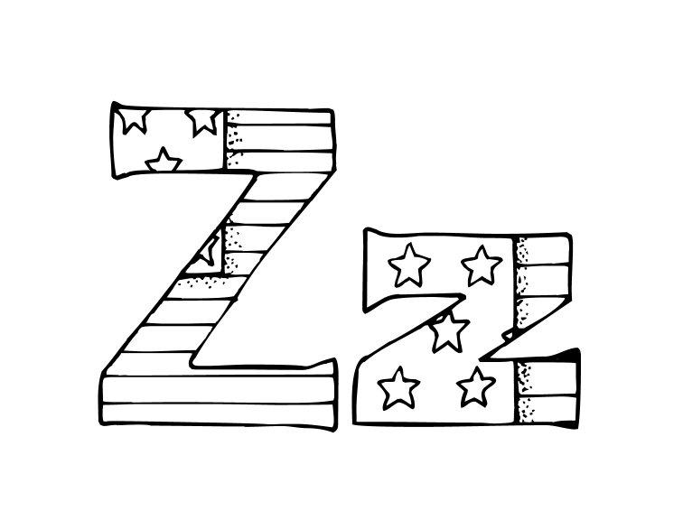 26 Best Alphabet Patriotic Coloring Pages for Kids