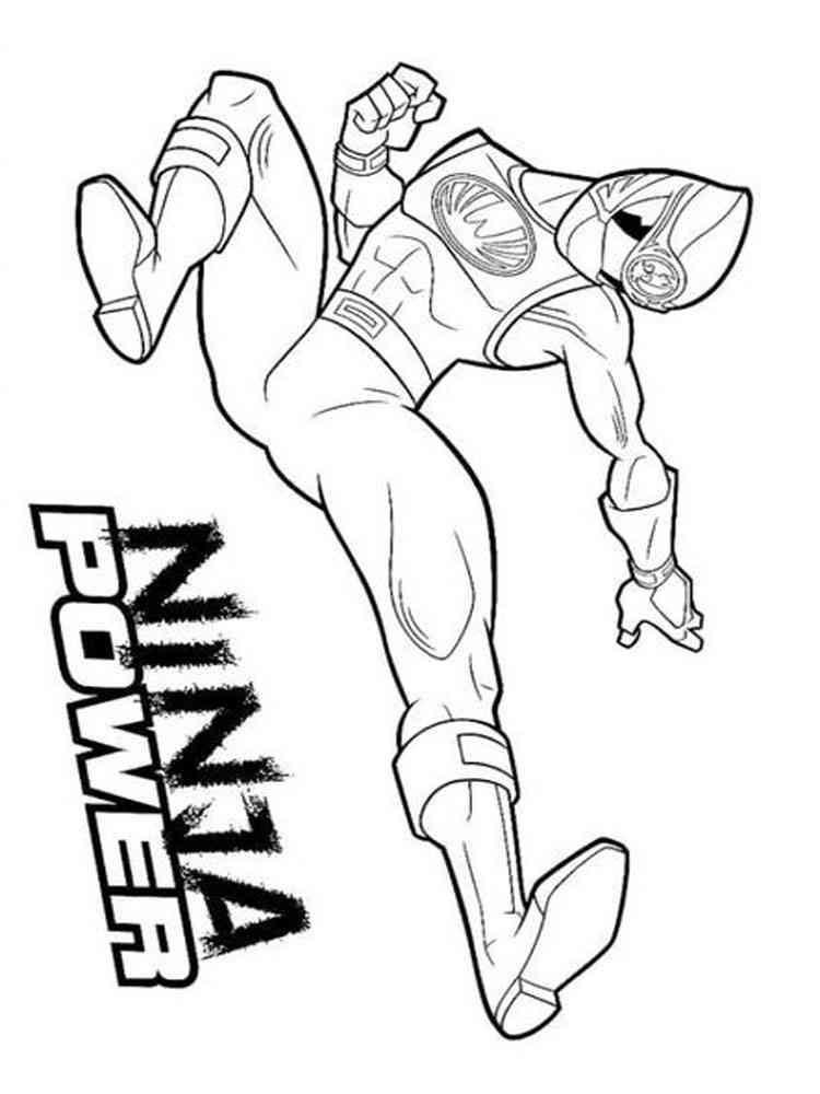 Power Ranger Malvorlage